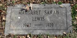 Margaret Sarah Lewis
