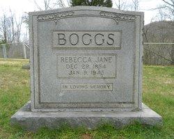 Rebecca J <I>James</I> Boggs