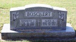 Alice A <I>Ritter</I> Boschert