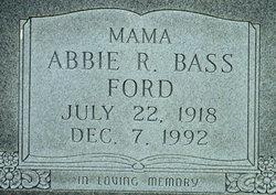 """Abbie Ruhamah """"Ruth"""" <I>Transue</I> Bass"""
