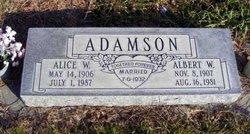 Alice Winfield <I>Keane</I> Adamson