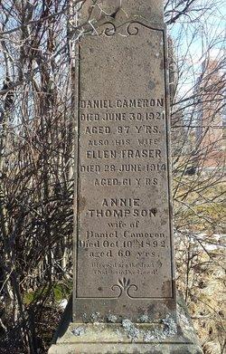 Annie <I>Thompson</I> Cameron