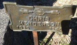 """Christoffer """"Chris"""" Henderson"""