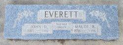 Maude Blanche <I>Vernon</I> Everett