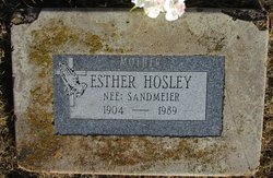 Esther S Hosley