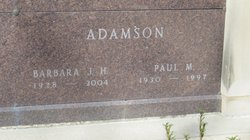 Barbara J. Adamson