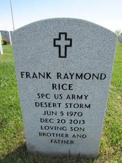 Spec Frank Raymond Rice