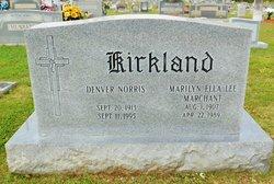 Marilyn Ella Lee <I>Marchant</I> Kirkland