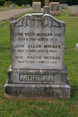 """Flora May """"May"""" <I>Wrenn</I> Morgan"""
