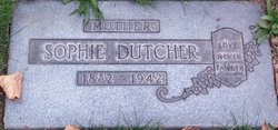 Sophia <I>Handler</I> Dutcher