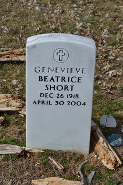 Genevieve Beatrice <I>Archambeault</I> Short