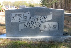 Minnie Lee <I>Jernigan</I> Addison