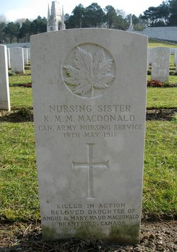 Nursing Sister Katherine Maud Mary MacDonald
