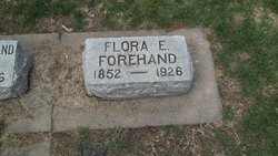 Flora Elizabeth <I>Andrews</I> Forehand