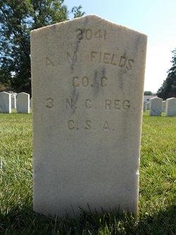 Pvt A M Fields