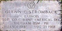 Sgt Glenn Charles Stromback