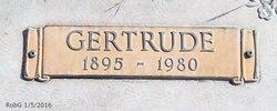 Gertrude Mary <I>Woods</I> Spencer