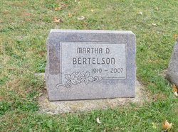 Martha <I>Dallas</I> Bertelson
