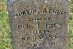 Rev Simeon Acuff