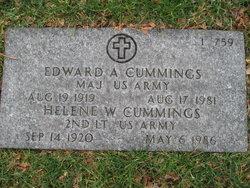 Edward A Cummings