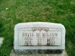 Pavil M. Wilson