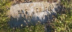 William S Cadell