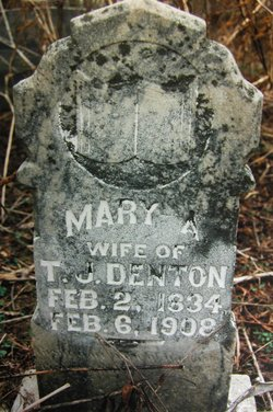 Mary America <I>Settle</I> Denton
