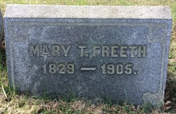 Mary T <I>Helms</I> Freeth