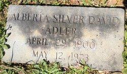 Alberta <I>Silver</I> Adler