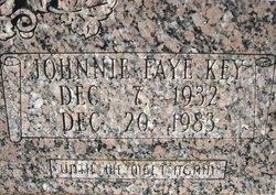 Johnnie Faye <I>Key</I> Palmer