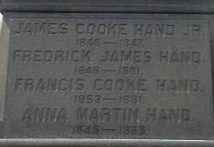 "Dr Francis Cooke ""Frank"" Hand"