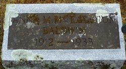 Anna M <I>McEachron</I> Baldwin