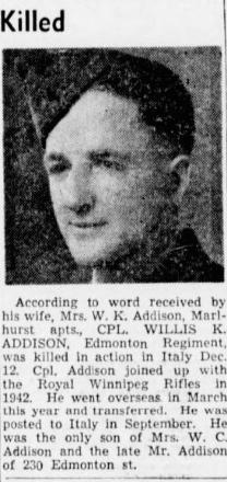 Corp Willis Keeton Addison