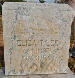 Eliza <I>Titt</I> Lee