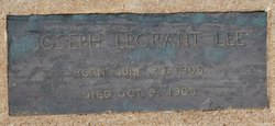 Joseph Legrand Lee
