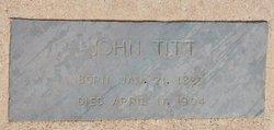 John William Titt