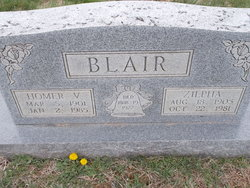 Homer Virgil Blair