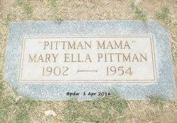 Mary Ella <I>Carroll</I> Pittman