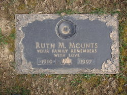 Ruth Madeline <I>Anderson</I> Mounts