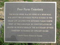 Poor House Cemetery