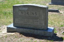 Marie L <I>Tilghman</I> Adkins