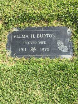 Velma <I>Hicks</I> Burton