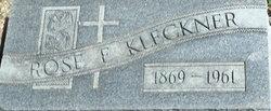 Rose Frances <I>Rochford</I> Kleckner