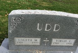 Loleta Maria <I>Johnson</I> Udd