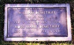 William John Demetriff