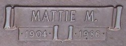 Mattie Mae <I>Newell</I> Pahl