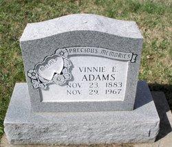 Vinnie E. <I>Betz</I> Adams