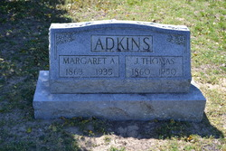"Margaret Ann ""Maggie"" <I>Pennewell</I> Adkins"
