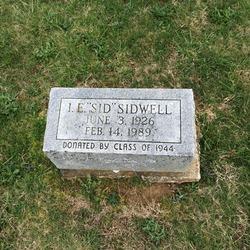 """Ira Emmet """"Sid"""" Sidwell, Jr"""