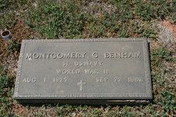 Montgomery G Benham